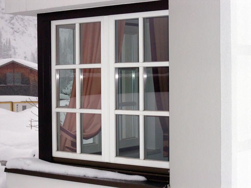 Пластиковые окна с раскладкой фото