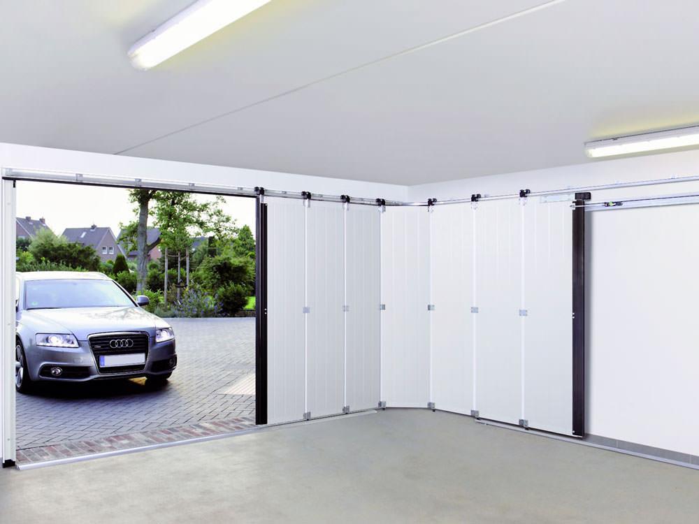 Ворота на гараж сдвижные
